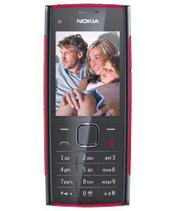 T-Mobile Nokia X2 Mobile Phone - Black in ARGOS £36.99