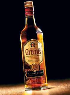 Grants Scotch Whisky 70cl £9 at Sainsburys