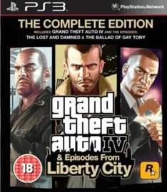 Grand Theft Auto IV: Complete Edition For PS3 - £11.99 Delivered @ Gamestation