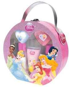 Disney Princess Vanity Case with 2 x bath and shower gels, Hand and body lotion, Heart shaped soap, Bath fizzer (was £14.99)  £7.83 at Argos