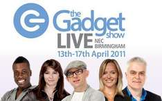 Free Tickets To The Gadget Show Live 2011 @ Personal Projector
