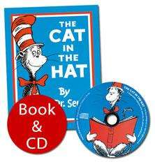 Dr. Seuss: The Cat In The Hat (Book + Audio CD) - £4.99 @ The Book People