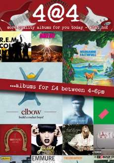 TuneTribe 4@4 - New Albums for £4