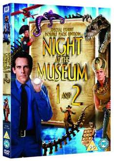 Night At The Museum 1 and 2 DVD Boxset £4.89 delivered at Argos Entertainment