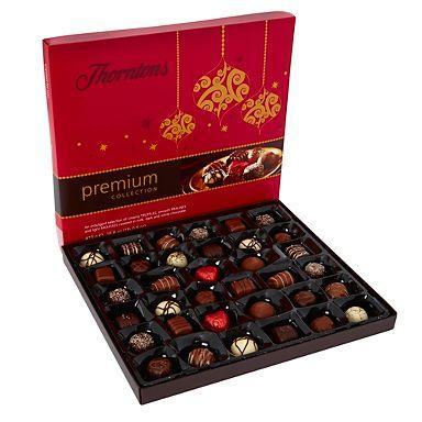 Thornton's Large 'Premium Collection' chocolate box 473g was £15.00 now £4.00 @ Debenhams