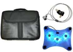 Fonerange Laptop Case, Cooling Pad & Cable Lock Packed - £9.94 Delivered @ PrePay Mania