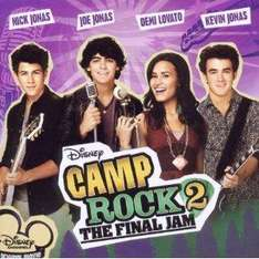 Camp Rock 2: The Final Jam [CD, Enhanced, Soundtrack] now £1.04 delivered @ amazon