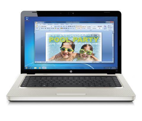 HP G62-B18SA LAPTOP £341.10 @ HP
