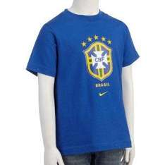 Nike Boys Brazil Federations Tee Shirt now £2.99 delivered @ amazon