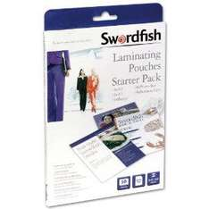 Swordfish Laminating Pouches Starter Pack - Box of 50  now £3.45 delivered @ amazon