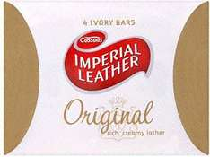 Imperial Leather Original Bars Soap 4 PACK for £1 @ Farmfoods