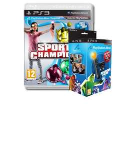 Playstation Move Starter Pack With Sports Champions Game - £39.99 *Instore* @ Watt Brothers