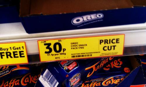 Oreo Choc Snack Pack 176G - Just 30p Instore @ Tesco