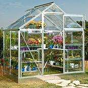 4x6 Aluminium Greenhouse Frame + Base + Polycarbonate Glazing £165.75 @ B+Q