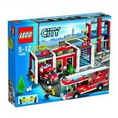 LEGO City 7208 Fire Station was 61.97 now £44.84 at Amazon