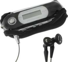 MP3 Music Player Case In Black - 69p Delivered @ 7 Day Shop