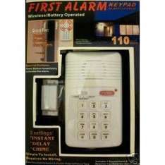 Electronic Keypad Alarm System RRP £19.99 NOW ONLY £4.99 from Amazon