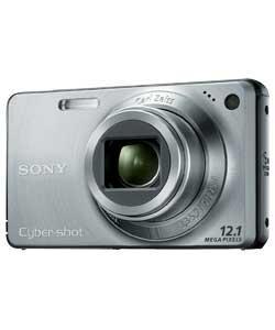 Sony W270 12.1MP Digital Compact Camera - Silver £74.63 @ Argos