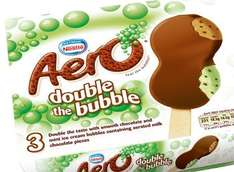 Nestle Aero Double the Bubble 3 pack ice creams Rolled back to 75p @ Asda!