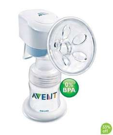 Philips Avent Single Electronic Breast Pump - £59.99 @ Mothercare