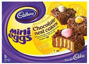 Cadbury Mini Egg Nests (5) was £2.25 now 2 for £3 @ Tesco