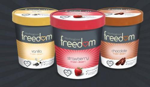 Worthenshaws freedom dairy free ice cream(double chocolate/vanilla) £2 @ asda