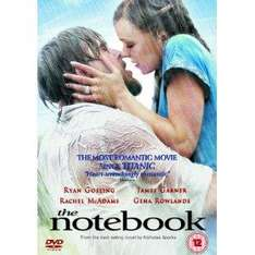 The Notebook DVD £3.49 at Amazon & Play