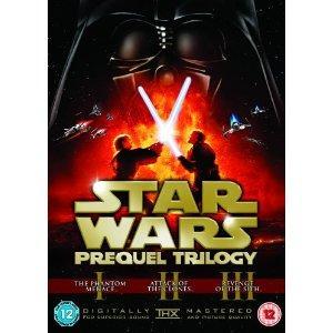 Star Wars - Prequel Trilogy [6 DVD Set] - £15.00 Delivered @ Amazon & Tesco