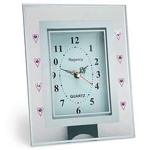 Glass Clock £1 @ Poundland!