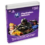 £50 PSN Card - £40.00 *Using Voucher Code* @ Tesco Direct