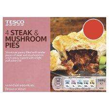 Tesco Frozen Sausage & Bean Pies (2 per pack - 284g) Half Price Now 50p. Loads Of Other 4 Pack Pies for £1,  List In First Post.