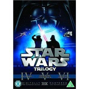 Prequel and original Star Wars DVD Trilogy £12.99 delivered - Sainsbury's Entertainment Online
