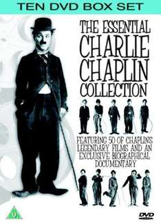 Charlie Chaplin:  The Essential Collection On DVD (10 Discs) Featuring 50 Films & An Exclusive Biographical Documentary - £15.85 Delivered @ Zavvi