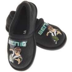 Ben 10 Childrens Slippers - Size 6 & 8 - £2.99 Delivered @ Play