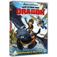 How To Train Your Dragon [DVD] £6.93 at Asda (£6.24 with code) and Amazon