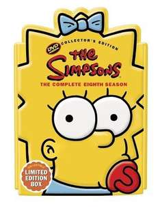 The Simpsons - The Complete 8th Season Maggie Head DVD - £6.24 online @ asda