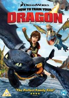 How To Train Your Dragon On DVD - £5.95 Delivered @ Zavvi
