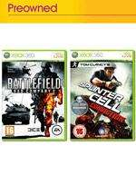 *PREOWNED* Battlefield Bad Company 2 & Splinter Cell Conviction For Xbox 360 - £20.00 Delivered @ Game