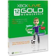12 Months Xbox Live Gold Subscription - £33.99 Delivered @ Amazon