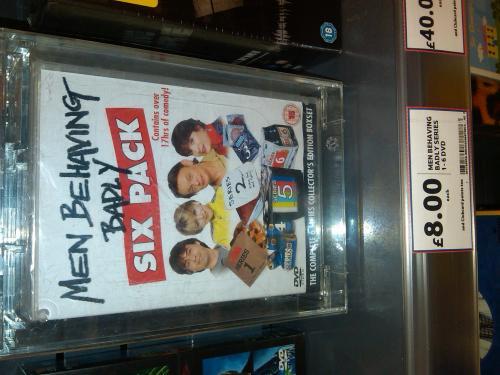 Men Behaving Badly: Six Pack: Series 1-6 (DVD) - £8 Instore @ Tesco