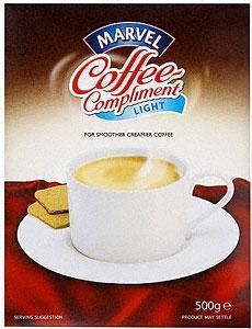 Marvel Coffee-Compliment Whitener Light (500g) £1.00 @ Asda