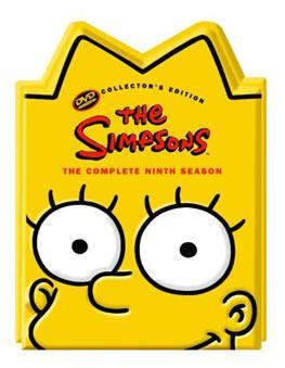 The Simpsons seasons 7,8,9 'Head' packaging £10 @ HMV