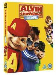 Alvin And The Chipmunks: The Squeakquel (DVD) - £4 @ Tesco Entertainment