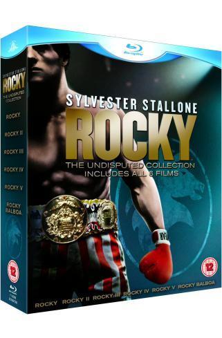 Rocky: The Complete Saga [Blu-ray] 7 disc boxset £28.47 @ Amazon and Tesco Entertainment