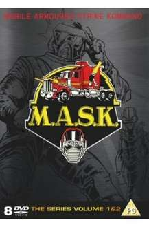 M.A.S.K. Complete Collection - 8 Discs, Over 800 Mins - £12.99 on play.com & Amazon UK