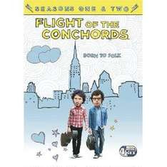 Flight of The Conchords: Complete HBO First & Second Season (DVD) (4 Discs) - £13.99 @ Amazon & Play