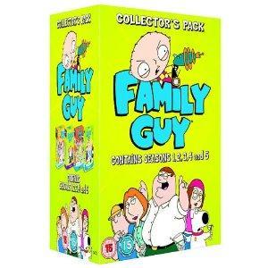 Family Guy: Seasons 1-5 (DVD) - £30 Instore @ Tesco