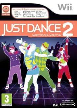 Just Dance 2 For Nintendo Wii - £14.85 Delivered @ The Hut