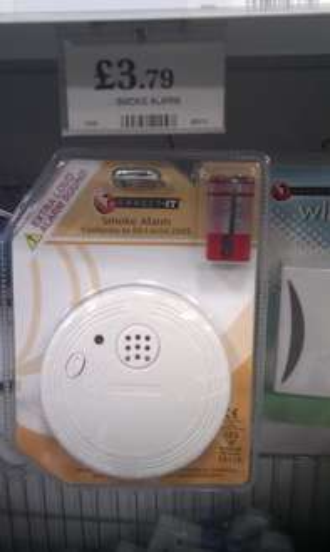 Smoke Alarm £3.79   ***instore*** @ Home Bargains