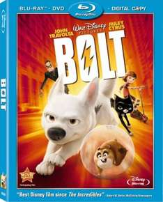 Bolt combi pack (Blu-Ray and DVD) only £6.95 @ base